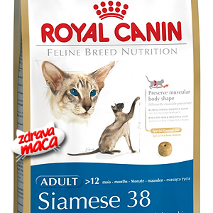Kompletna hrana posebno pripremljena za potrebe sijamske mačke.