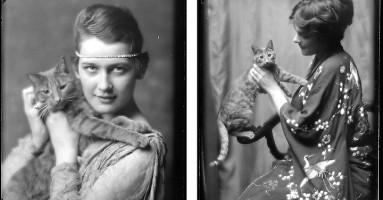 Mačak maneken sa početka XX veka